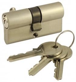Цилиндровый механизм V60 SN (ключ-ключ) матовый никель - фото 19486