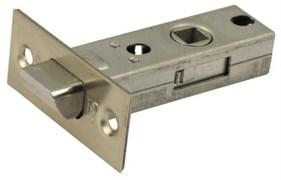 Защелка межкомнатная Винтаж L45 SN матовый никель с металлическим язычком