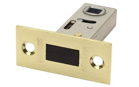 Защелка межкомнатная Винтаж LM50 SB матовое золото магнитная