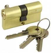 Цилиндровый механизм V60 SB (ключ-ключ) матовое золото