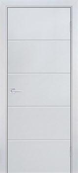 Межкомнатная дверь Эмаль Essenza Grigio Chiaro глухая - фото 39982