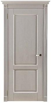 Межкомнатная дверь Массив Дуба Двери Белоруссии Галифакс Слоновая кость глухая - фото 40936