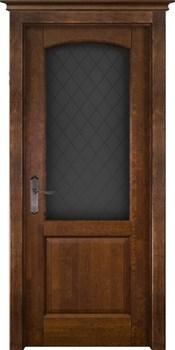 Межкомнатная дверь Массив Ольхи Двери Белоруссии Ричмонд Дуб Винтаж со стеклом - фото 41079