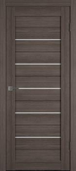 Межкомнатная дверь Profil 2.81DX Грей LACOBEL Белый Лак со стеклом - фото 51045