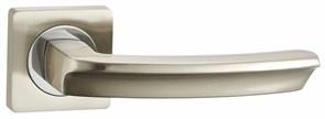 Дверная ручка Винтаж V11D AL на квадратной розетке SN матовый никель