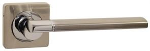 Дверная ручка Винтаж V06D на квадратной розетке SN матовый никель