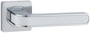 Дверная ручка Винтаж V09CP на квадратной розетке CP хром