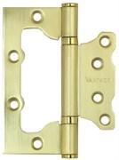 Петля-бабочка накладная без врезки Винтаж 2BB-SB матовое золото