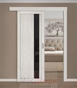 Раздвижная одностворчатая дверь Profil 2.71RTX Эш Вайт Мелинга со стеклом