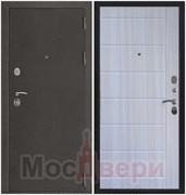 Входная дверь в квартиру Axel Антик серебристый / Дуб Неаполь