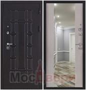 Входная дверь в квартиру Scandi Collins Венге / Ива светлая Зеркало