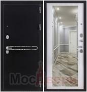 Входная дверь в квартиру Scandi Alvesta Черный бархат / Дуб Неаполь Зеркало