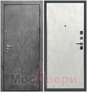 Входная дверь в квартиру Rushmore Бетон Платина / Мрамор