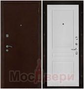 Входная дверь в квартиру Regina Антик медный / Белая Эмаль