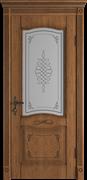 Межкомнатная дверь Profil 2.132DN Дуб Натуральный со стеклом