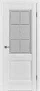 Межкомнатная дверь Profil 90DU Аляска со стеклом