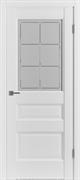 Межкомнатная дверь экошпон Profil 94DU Аляска со стеклом