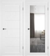 Межкомнатная дверь Profil 110DU Аляска Зеркало (с 1 стороны)