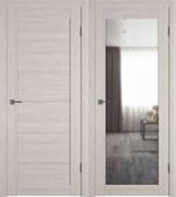Межкомнатная дверь Profil 99DX Капучино с зеркалом (с 1 стороны)