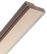 Коробка скрытая МДФ влагостойкий  под звукоизоляционные двери со спецуплотнителем Horman Invisible 50*90*2100 с запилом под 3 скрытые петли