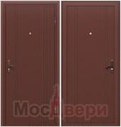 Входная дверь в дом уличная DO-1 Антик медный / Антик медный