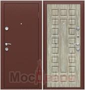 Входная дверь в квартиру IR-3 Антик медный / Неаполь светлый