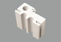 Коробка телескоп CL пластик 80*40*2100 белая