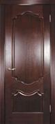 Межкомнатная дверь Бонне Махагон глухая