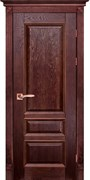 Межкомнатная дверь Массив Дуба Двери Белоруссии Оксфорд Красное Дерево глухая
