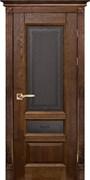 Межкомнатная дверь Массив Дуба Двери Белоруссии Линкольн Дуб Винтаж Кристалл со стеклом