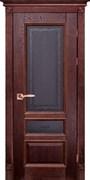 Межкомнатная дверь Массив Дуба Двери Белоруссии Линкольн Красное Дерево Кристалл со стеклом