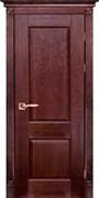 Межкомнатная дверь Массив Дуба Двери Белоруссии Нортон Красное Дерево глухая