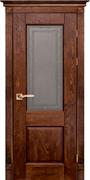 Межкомнатная дверь Массив Дуба Двери Белоруссии Нортон Дуб Винтаж со стеклом