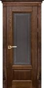 Межкомнатная дверь Массив Дуба Двери Белоруссии Рочестер Дуб Винтаж Кристалл со стеклом