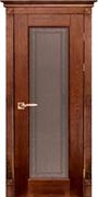 Межкомнатная дверь Массив Дуба Двери Белоруссии Одри Дуб Винтаж со стеклом