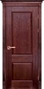 Межкомнатная дверь Массив Дуба Двери Белоруссии Глазго Красное Дерево глухая
