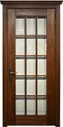 Межкомнатная дверь Массив Дуба Двери Белоруссии Бристоль Дуб Винтаж со стеклом