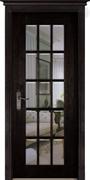 Межкомнатная дверь Массив Дуба Двери Белоруссии Бристоль Венге со стеклом