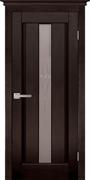 Межкомнатная дверь Массив Ольхи Двери Белоруссии Гастингс Венге со стеклом