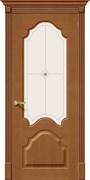 Межкомнатная дверь FA-27 Орех натуральный со стеклом