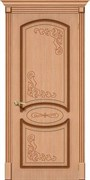 Межкомнатная дверь FAZ-22 Дуб светлый глухая