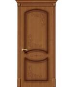 Межкомнатная дверь FAZ-22 Орех натуральный глухая