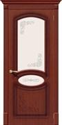 Межкомнатная дверь FAZ-22 Макоре со стеклом