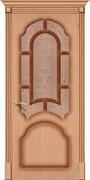 Межкомнатная дверь FSO-15 Дуб светлый со стеклом