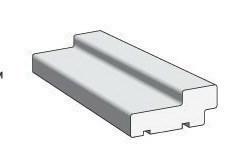 Коробка стандарт Массив сосны M Без отделки 68*34*2100