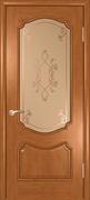 Межкомнатная дверь Божена Орех натуральный со стеклом