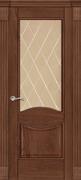 Межкомнатная дверь Балатон Дуб Сатин со стеклом