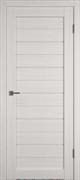 Межкомнатная дверь Profil 2.81DX Бьянко LACOBEL Белый Лак со стеклом