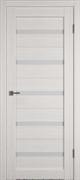 Межкомнатная дверь Profil 7DX Бьянко LACOBEL Белый Лак со стеклом
