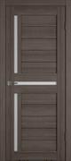 Межкомнатная дверь Profil 19DX Грей LACOBEL Белый Лак со стеклом